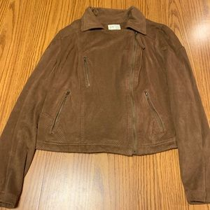 Jolt • Brown Suede Jacket • SIZE MEDIUM